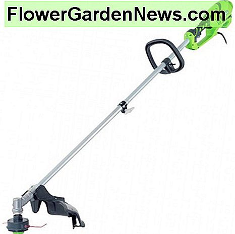 The GreenWorks 21142 10Amp 18 Inch Straight Shaft Trimmer is an easy to use tool that uses dual string technology. Quiet and clean, the 18 inch cutting area means that you can cover areas quicker.