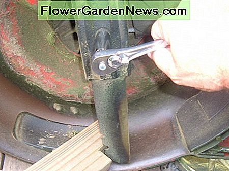 Removing the Lawn Mower Blade