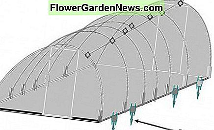 Constructing Greenhouse for Low Income People - Your your UV protected polyethylene Greenhouse is finally in place