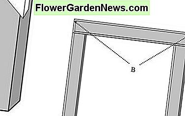 Building Cheap Greenhouse - fixing the door frame to fit with PVC pipes