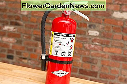Fire extinguishers expire over time, even if they haven't been used.