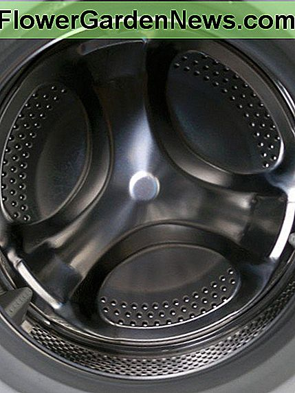 Water drained from washing machines can be used on plants