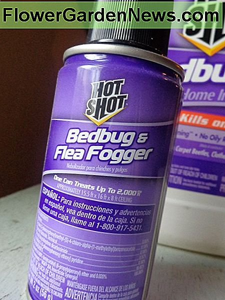 Hot Shot Bed Bug og Flea Fogger Review