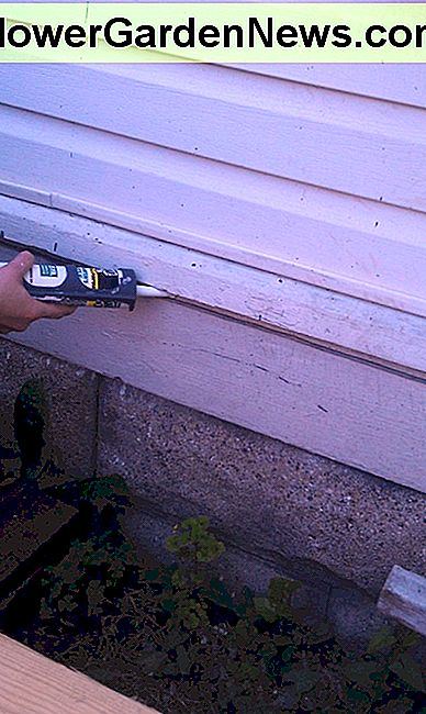 How to use caulk to seal the exterior of your home.