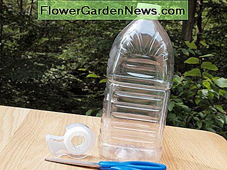 What you'll need for a DIY bottle fly trap.