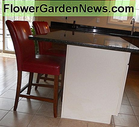 Dull Drab Kitchen Island