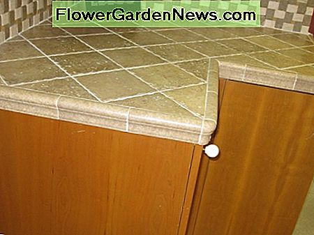 diagonally-laid tile with