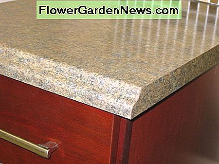 laminate counter top option with regular ogee edge