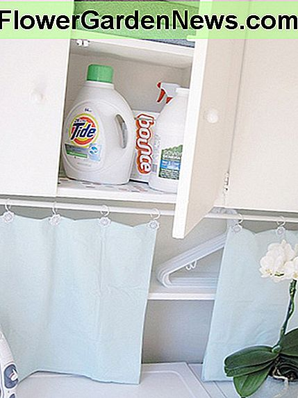 Allow for laundry room storage in your design plans.