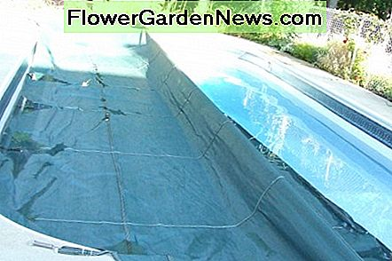 Install the pool cover the long wat first.